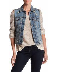 Silver Jeans Co. - Denim Vintage Vest - Lyst