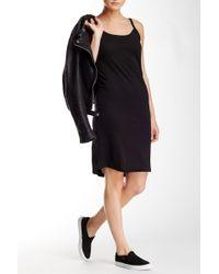 Olive & Oak - Curved Hem Jersey Dress - Lyst