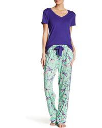 Munki Munki - Dragonfly Jersey Pyjama Pant - Lyst