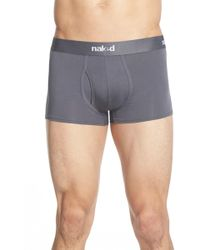 Naked - Essential Stretch Cotton Trunks - 2-pack - Lyst