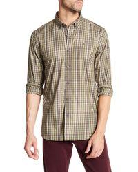 Victorinox - Long Sleeve Plaid Print Tailored Fit Shirt - Lyst