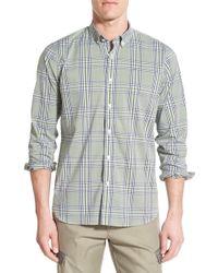 Victorinox - Long Sleeve Plaid Slim Fit Shirt - Lyst