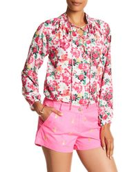 Macbeth Collection - Floral Bff Blouse - Lyst