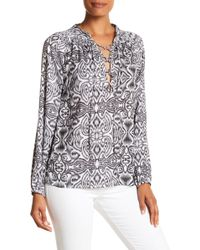 Macbeth Collection - Printed Bff Blouse - Lyst