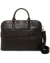 Fossil - Mercer Tz Leather Work Bag - Lyst