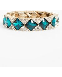 Natasha Couture - Jack Crystal Stretch Bracelet - Lyst