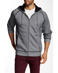 Cutter & Buck - Draft Heathered Zip Jacket - Lyst