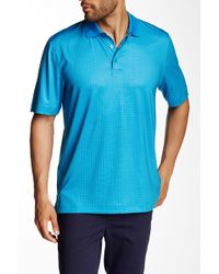 Cutter & Buck - Intertidal Print Polo - Lyst