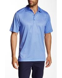 Cutter & Buck - Beach Drive Print Polo - Lyst