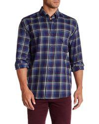 Cutter & Buck - Classic Fit Matthew Plaid Long Sleeve Shirt - Lyst