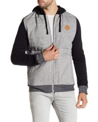 RVCA - Gothard Quilted Zip Jacket - Lyst