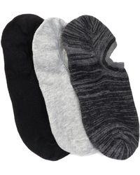 Joe Fresh - Bas Fl Socks - Pack Of 3 - Lyst