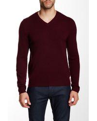 HUNTER - Original Moustache V-neck Wool Sweater - Lyst