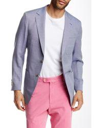 Peter Millar - Summer Oxford Wool Blend Coat - Lyst