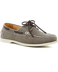 Peter Millar - Seaside Washed Canvas Boat Shoe - Lyst