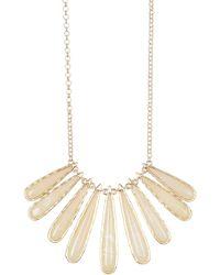 Karen Kane - Tidal Wave Statement Collar Necklace - Lyst