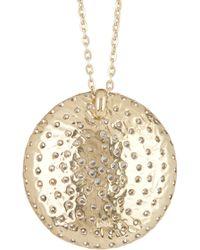 Melinda Maria - 14k Gold Plated Nicole Necklace - Lyst