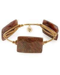 Bourbon and Boweties - Stone Bracelet - Lyst