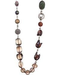 Stephen Dweck - Sterling Silver, Freshwater Pearl, & Gemstone Bead Necklace - Lyst