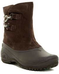 The North Face - Shellista Ii Faux Fur Lined Pull-on Boot - Lyst
