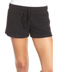 Make + Model - 'best Boyfriend' Brushed Hacci Shorts - Lyst