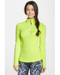 Zella - My Run Layer Half Zip Pullover - Lyst