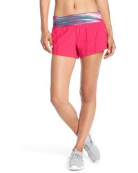 Zella - 'speedster' Running Shorts - Lyst