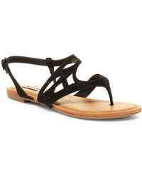 Not Rated - Brentwood Cutout Embellished Sandal - Lyst