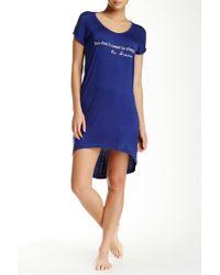 Steve Madden - Jersey Knit Sleep Shirt - Lyst