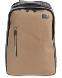 Jack Spade - Canvas & Leather Backpack - Lyst