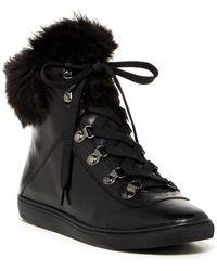 Pour La Victoire - Nyx Faux Fur Sneaker - Lyst