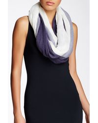 Blue Pacific - Ombre Gauze Infinity Scarf - Lyst