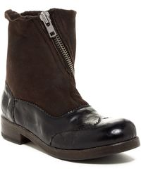 Bed Stu - Oleander Genuine Shearling Lined Boot - Lyst