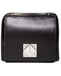 L.A.M.B. - Jones Leather Trim Crossbody - Lyst