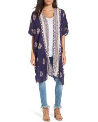 Angie - Print Kimono - Lyst