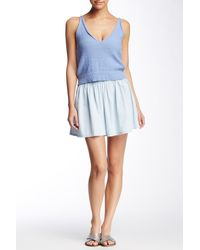 Mimi Chica | Chambray Flowy Short | Lyst