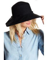 Helen Kaminski - Capri Linen Wide Brim Bucket Hat - Lyst