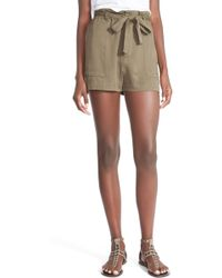 Mimi Chica | Tie Front Shorts | Lyst