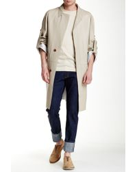Ports 1961 - Bonded Lamb Leather Trench - Lyst