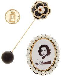 Cara - Vintage Pin - Set Of 3 - Lyst