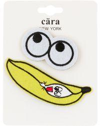 Cara - Big Eyes & Baby Banana Split Pin - Set Of 2 - Lyst