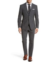Jack Spade - Trim Fit Solid Stretch Wool Suit - Lyst