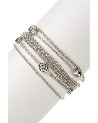 Lois Hill - Sterling Silver Mixed Chain Bracelet - Lyst