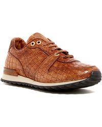 Robert Graham - Amazon Croc Embossed Sneaker - Lyst