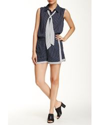 Romeo and Juliet Couture - Printed Short - Lyst