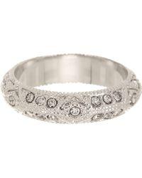 Ariella Collection - Milgrain Band Ring - Lyst
