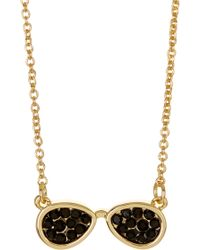 Ariella Collection - Aviator Necklace - Lyst