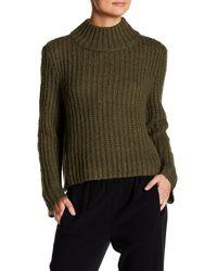 Valette - Funnel Neck Sweater - Lyst