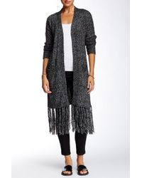 Marrakech | Solid Fringe Trim Sweater | Lyst