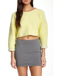 American Apparel - Easy Cropped Sweater - Lyst